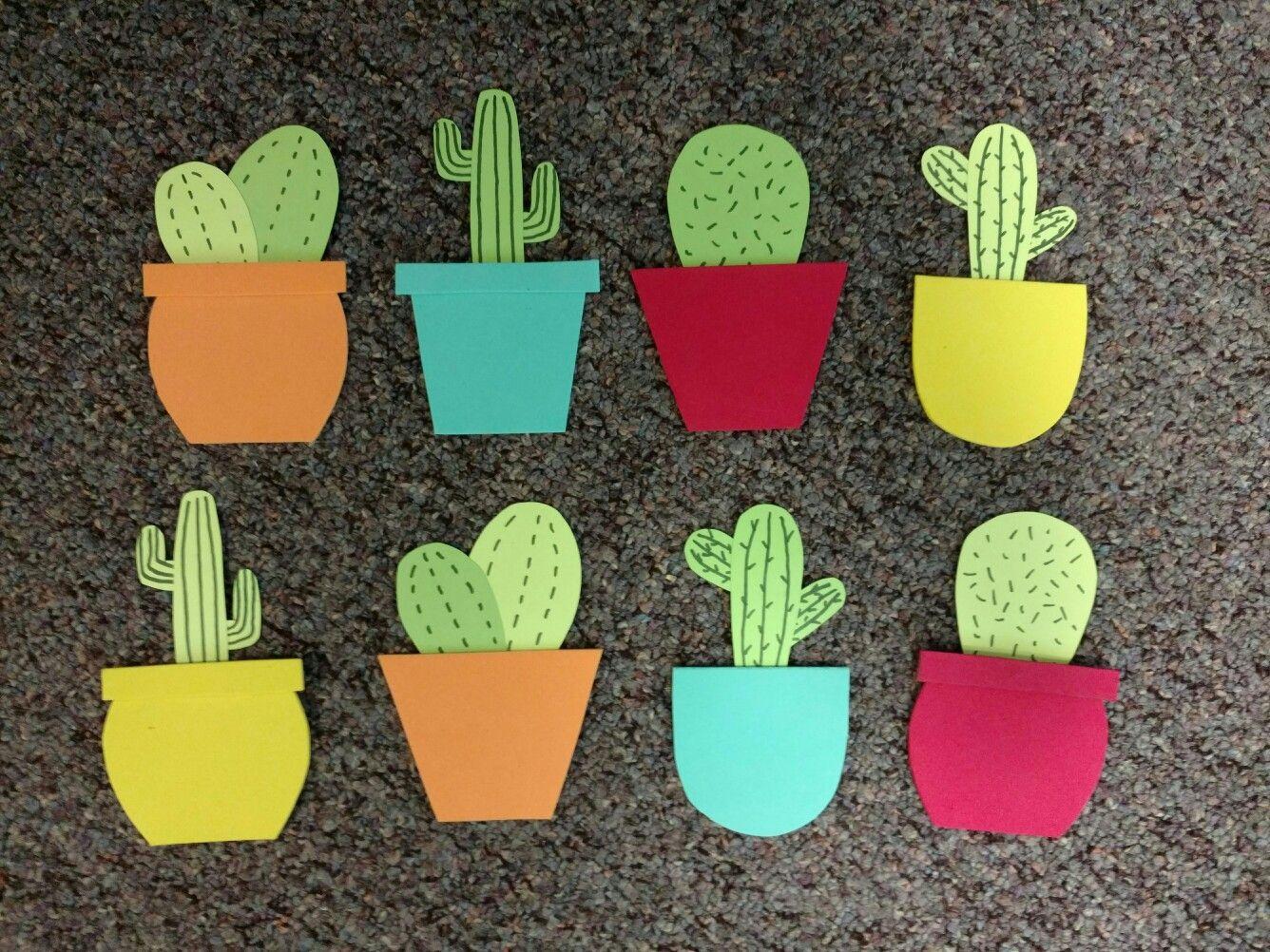 Cactus Door Decs & Cactus Door Decs | RA Board | Pinterest | Door decs Cacti and Doors