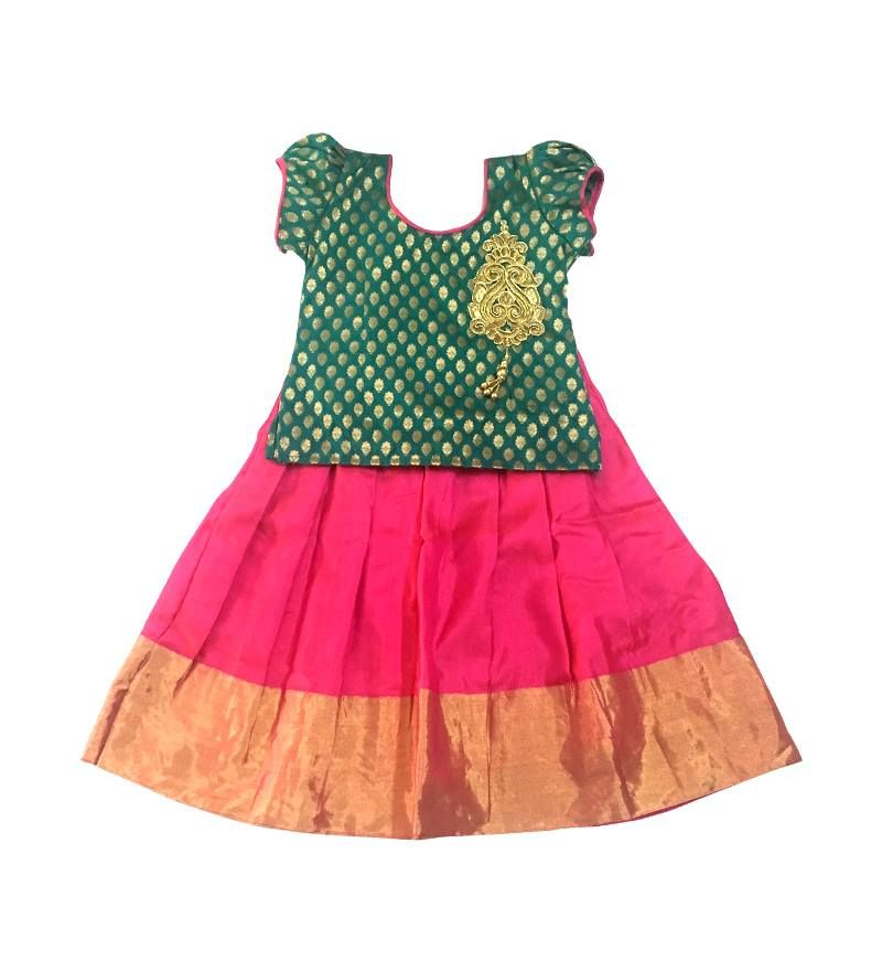 4b3a1caf7 We have the best quality traditional Indian Pattu Pavadai