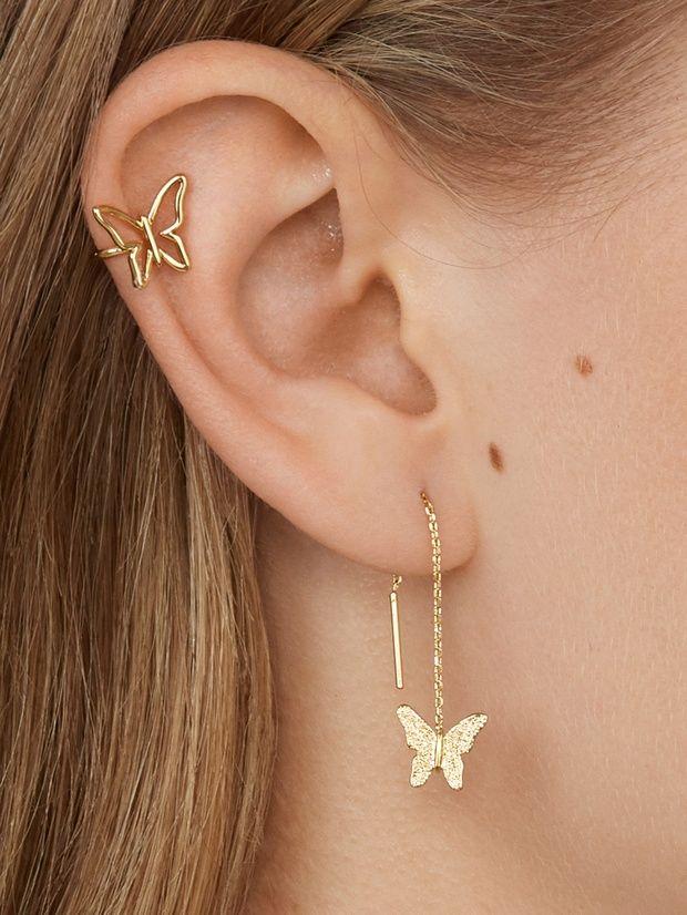 ciondolo butterfly necklace con cristalli collana Doppia  farfalla
