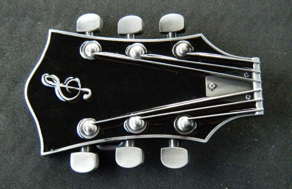 d293d2b42e8f CLASSIC BLACK GUITAR ROCK ROLL COUNTRY MUSIC SYMBOL BELT BUCKLES BOUCLE  CEINTURE  guitar  musicalinstrument  music  beltbuckle