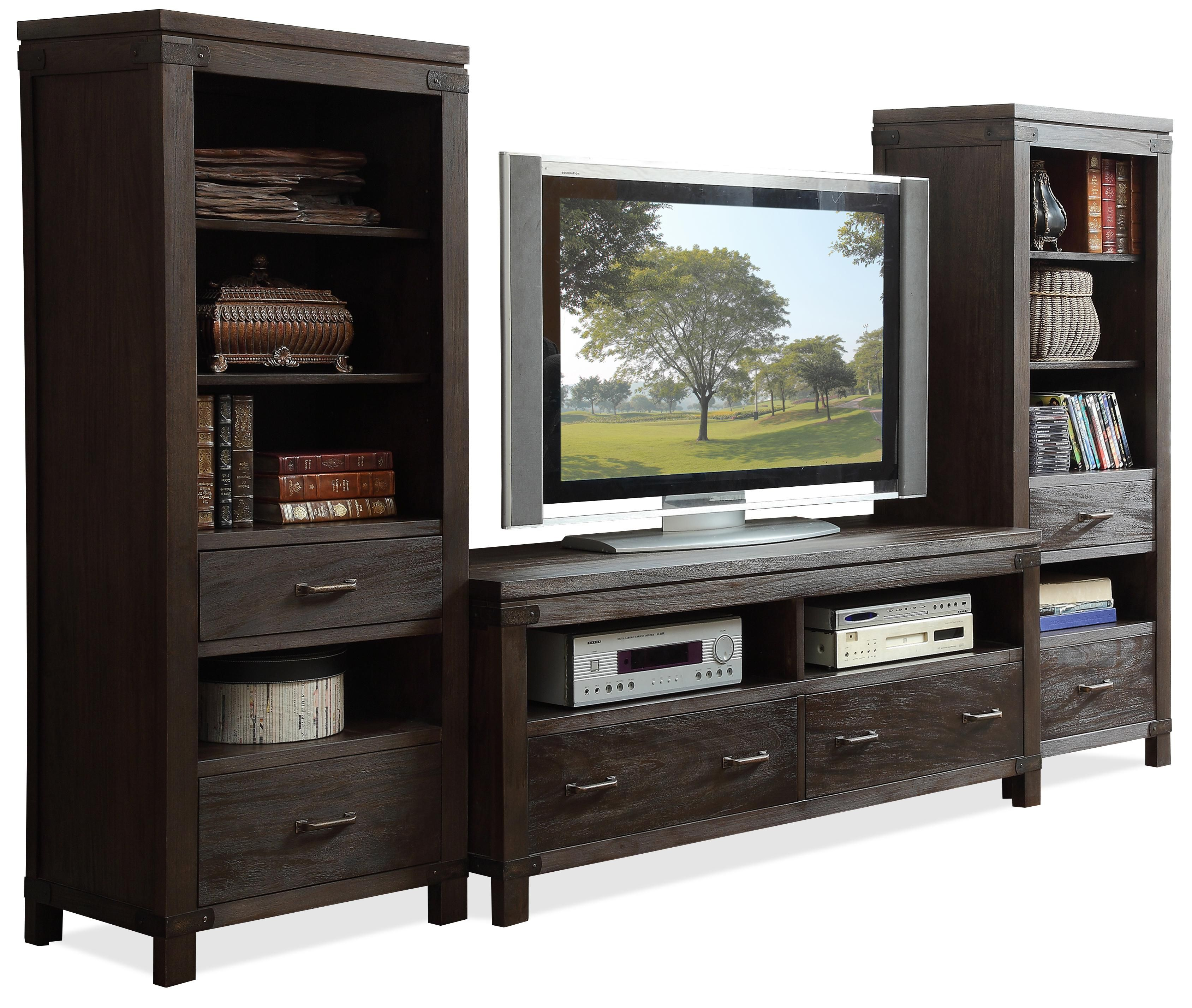 Promenade Wall Entertainent Unit By Riverside Furniture