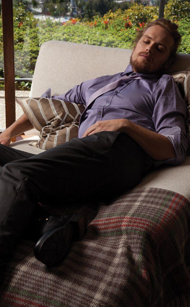 Outlander S Caitriona Balfe And Sam Heughan Stun In New