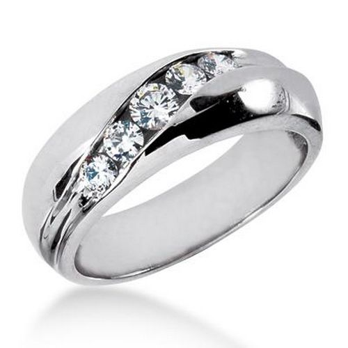 Diamond Engagement Ring For Men Simple Mens Rings