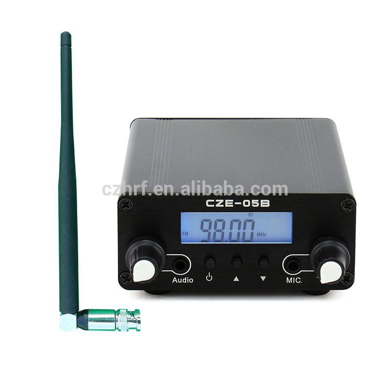 CZE-05B 0 5W Black Diy Power Amplifier FM Transmitter Kits