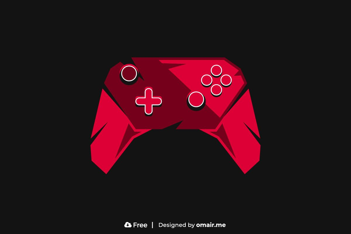 Angry Game Controller Logo Free Download - Omair
