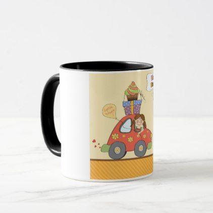 Happy Birthday Delivery Mug