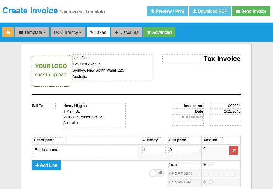 20 Free Invoice Generators to Create Invoices Instantly