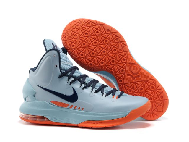 Larry Belmont cera Reunión  Nike Zoom KD V 5 Blue Orange Basketball Shoes | Nike shoes air max, Nike  lebron shoes, Kevin durant shoes