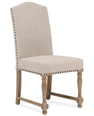 Analeigh Set Of 2 Dining Chairs Direct Ship Dining Chairs Furniture Macy S Upholstered Chairs Dining Chairs Zm Home