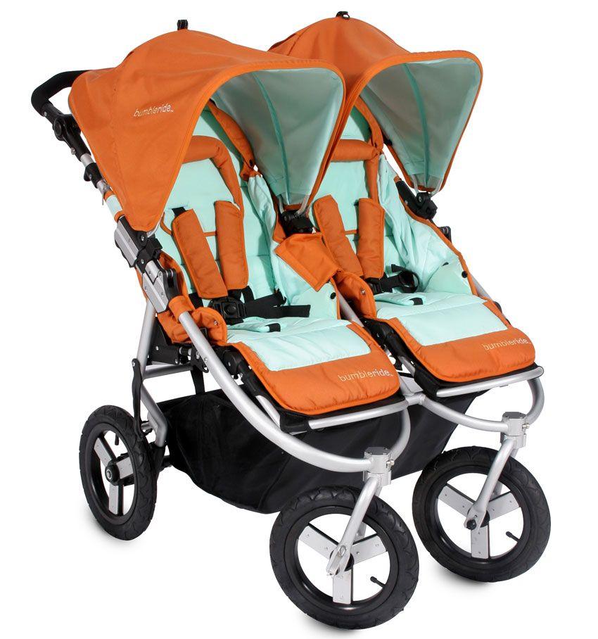 Bumbleride Indie double stroller in spice! Bumbleride
