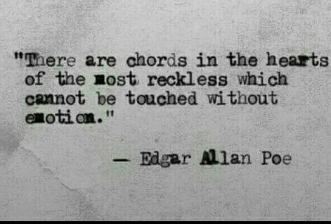 Try To Find Those Chords Truths Of Life Pinterest Poe Quotes Enchanting Edgar Allan Poe Love Quotes