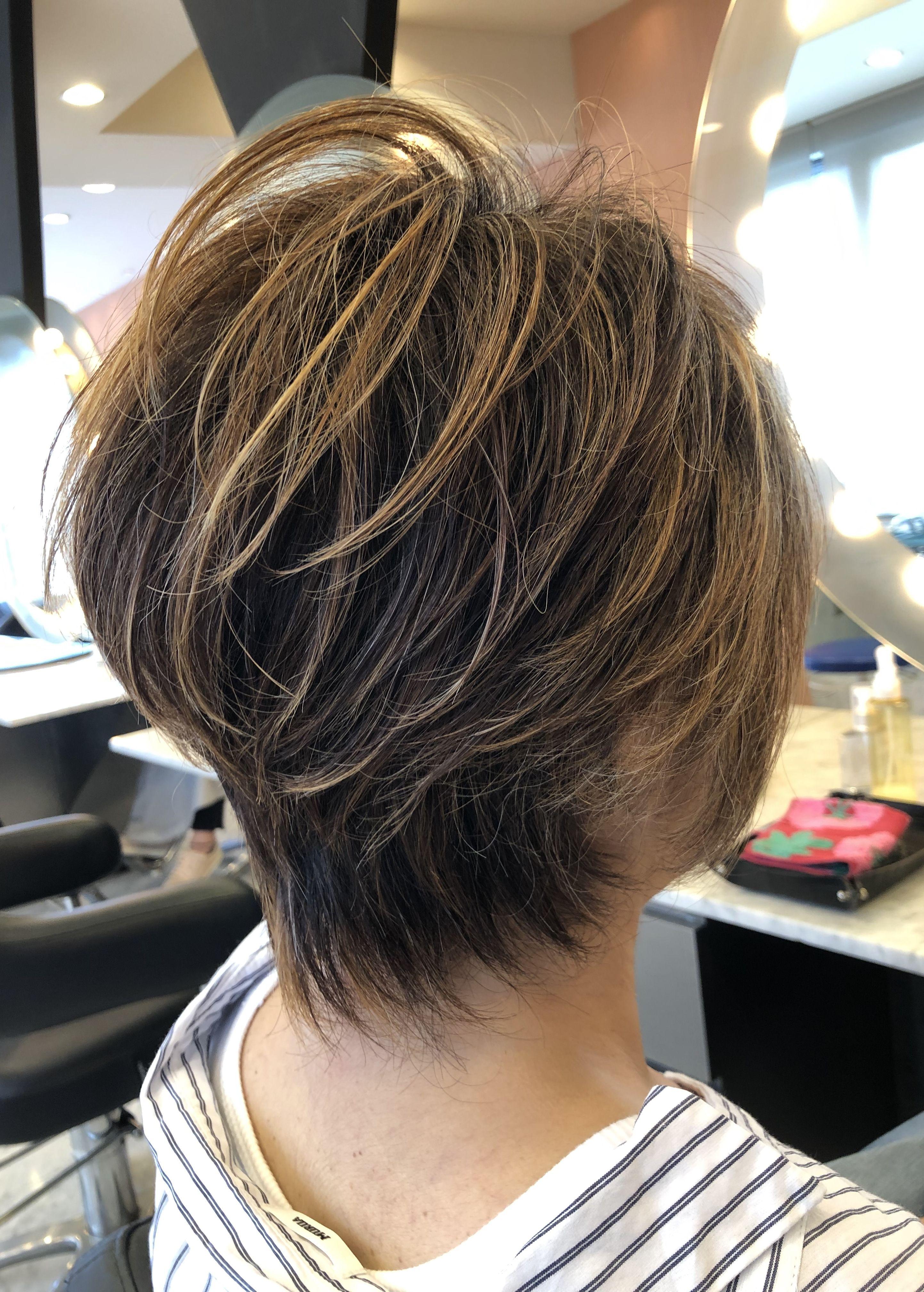 40代50代60代ヘアスタイル髪型 50代髪型 50代ショート 2020