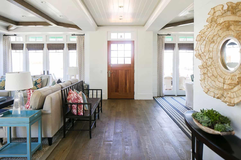 Cape Cod Style Home In Corona Del Mar Inspires A Taste Of The Caribbean Cape Cod Style House Interior Architecture Home