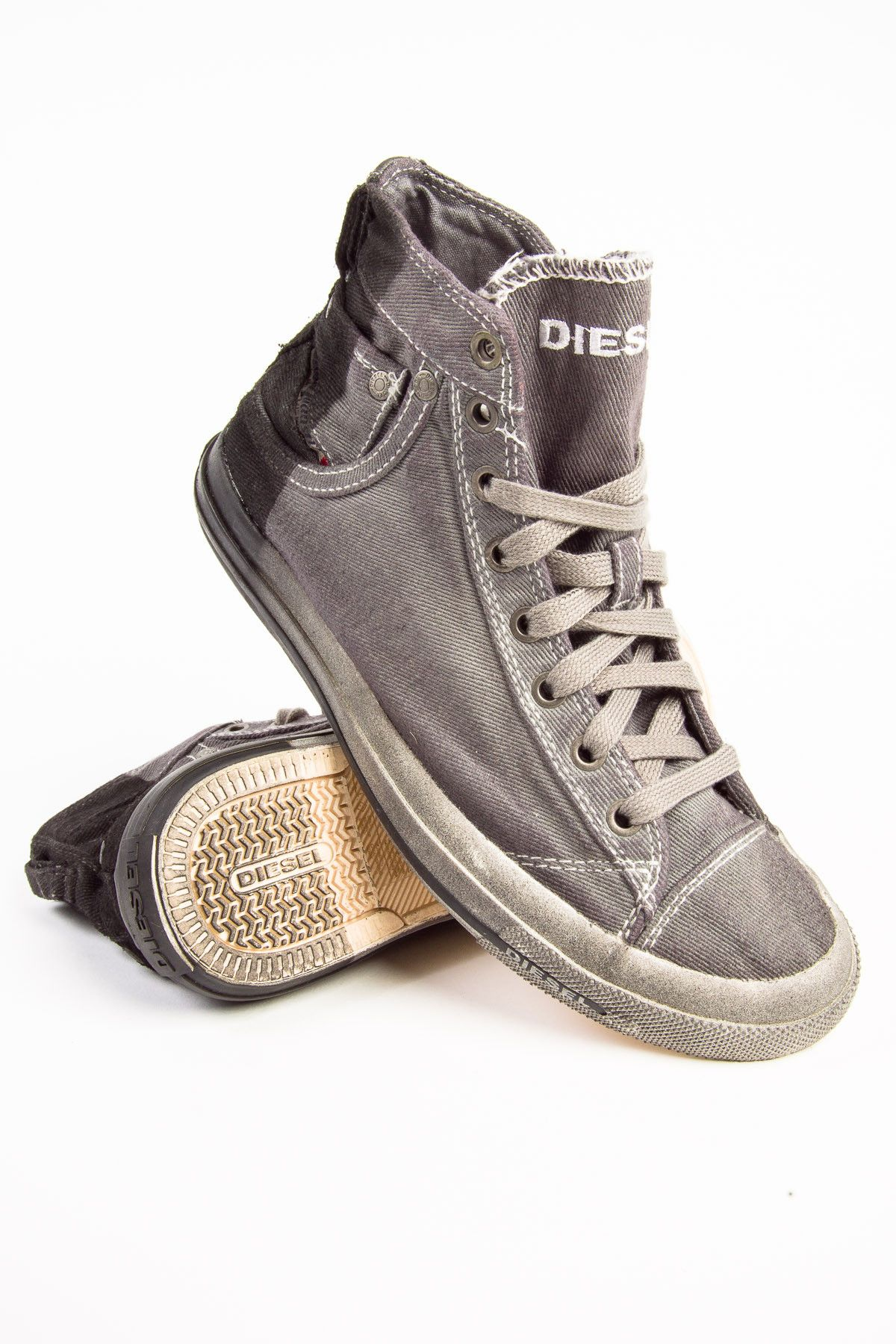separation shoes bd349 e86e6 Diesel Exposure 1 Grey Gargoyle