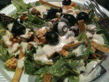 My birthday Salad