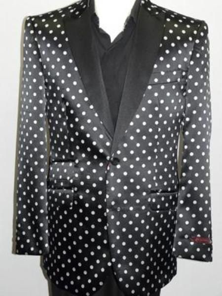 Polka Dots Are Again In Fashion Mens Woven Paisley
