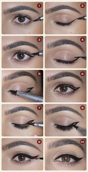 Photo of Winged eyeliner – 12 different eyeliner tutorials for which you will be grateful …