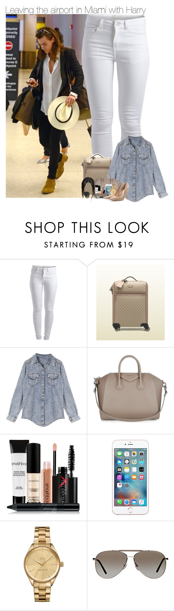 Sem título #1110 by vicmiranda on Polyvore featuring moda, Retrò, Pieces, Gianvito Rossi, Gucci, Givenchy, Lacoste, Tom Ford and Smashbox