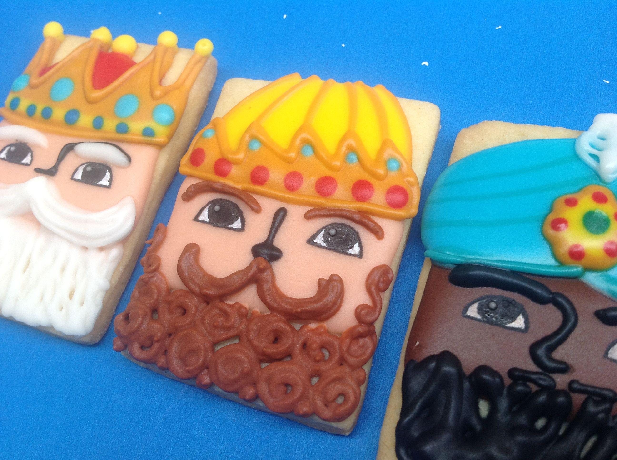 Galletas Decoradas De Reyes Magos Galletas Galletas De
