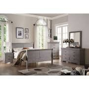 ACME Louis Philippe III Twin Bed Antique Gray - 25515T