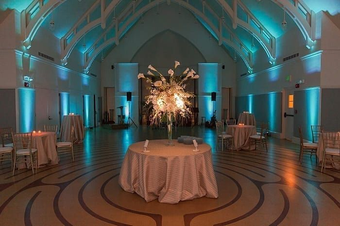 Uplighting is a great way to add ambiance to a room. Whats your favorite color? #rentmywedding #uplighting || Photographer: @ginnyfiler | Uplighting: @RentMyWedding