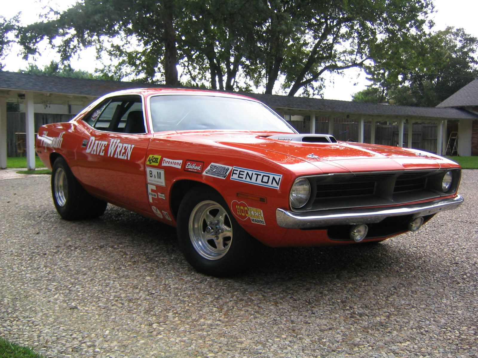 70 Cuda 440 6 pack that belonged to Dave Wren of Olympia WA | Cool ...