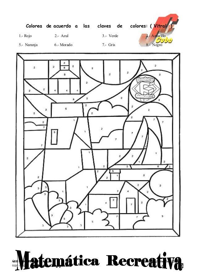 Dibujos Para Colorear De Matematicas Para Preescolar Dibujos