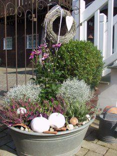 Terrasse / Balkon 'Garten und Balkon' #herbstdekoeingangsbereich
