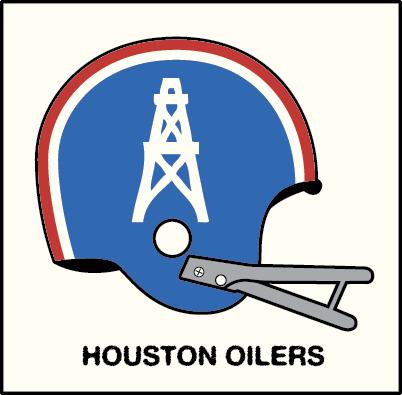 Vintage Helmet Avatars Concepts Houston Oilers Nfl Football Helmets Oilers