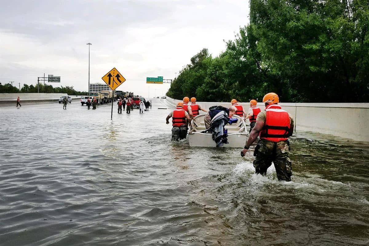 Hurricane Harvey Texas Under Water Fema Flood Flood Protection Harvey