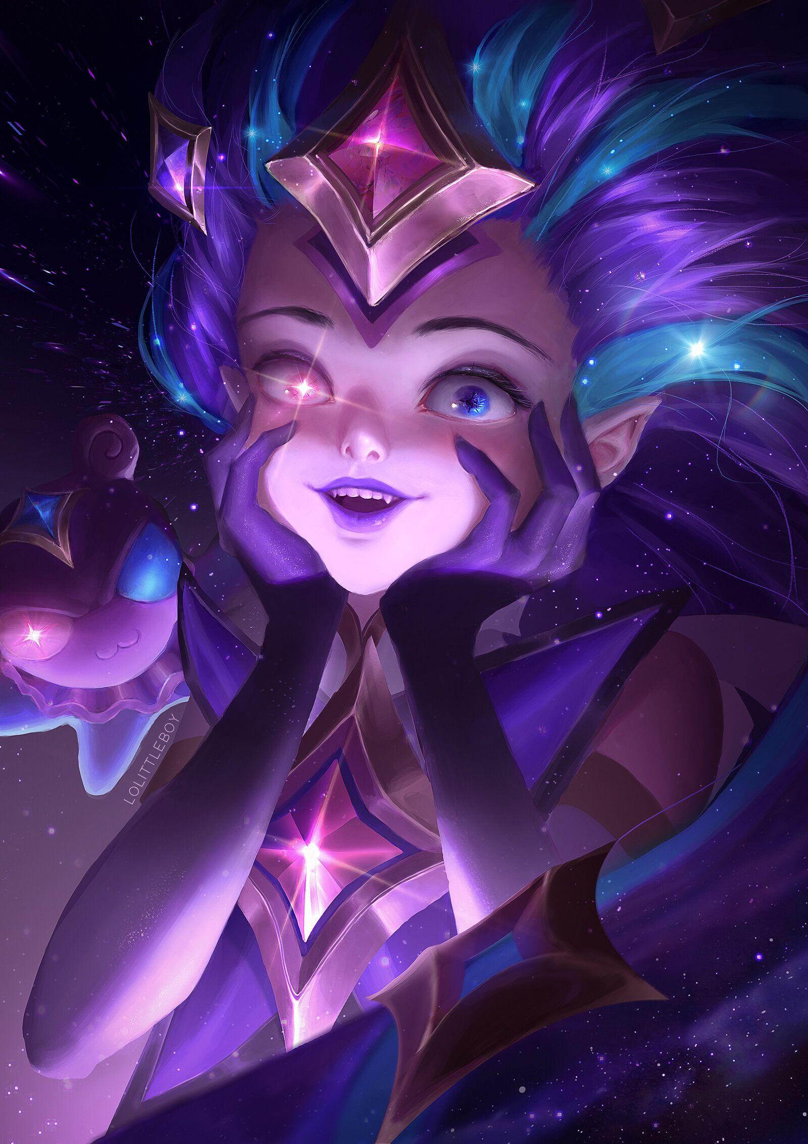 Star Guardian Zoe imagens) Lol league of legends