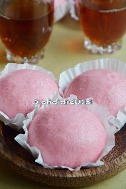 Diah Didi S Kitchen Kue Ku Terigu Atau Bakpao Ala Pasar Resep Masakan Indonesia Kue Resep