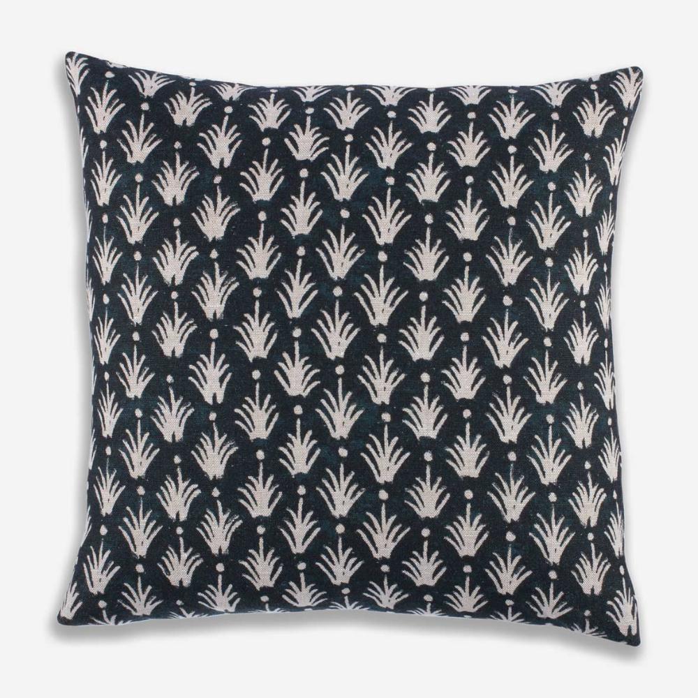 Reeds Pillow Clay Mclaurin Studio Indigo Blue Throw Pillows Boho Throw Pillows Blue Throw Pillows