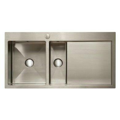 kitchens http   www wrenkitchens com 510x1000 avon 1 5 bowl rhd s steel      rh   pinterest com