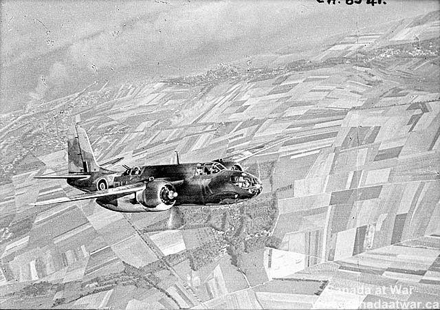 Douglas Boston aircraft of the Royal Air Force taking part ...