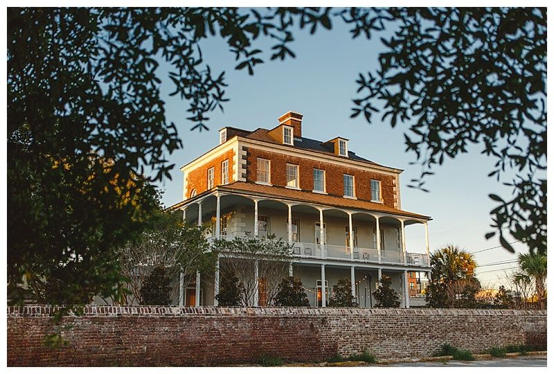 Gadsden House Wedding In Charleston Sc Photographed By Photographer Priscilla Thomas Http