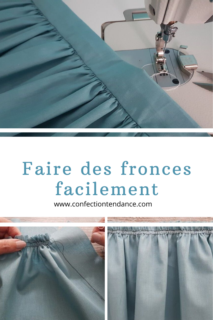 Faire des fronces facilement – SEWING – LITTLE THINGS
