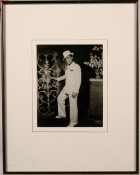 828: James Van Der Zee. Harlem Dandy, 1970's re-print. : Lot 828