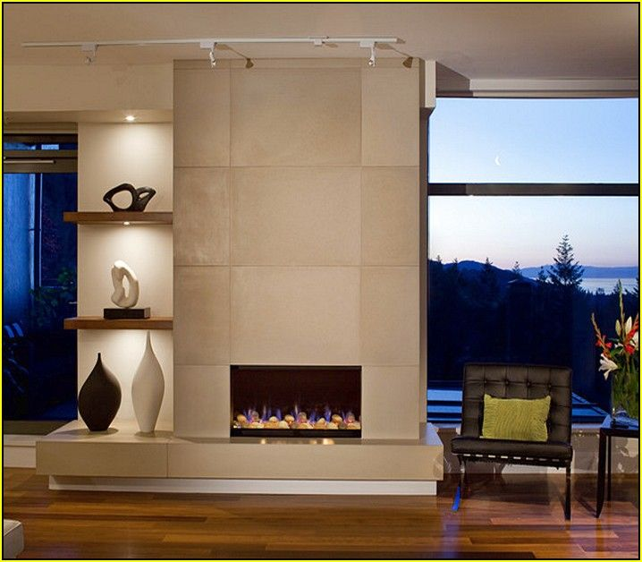 Modern Tiled Fireplaces Modern Fireplace Tile Ideas