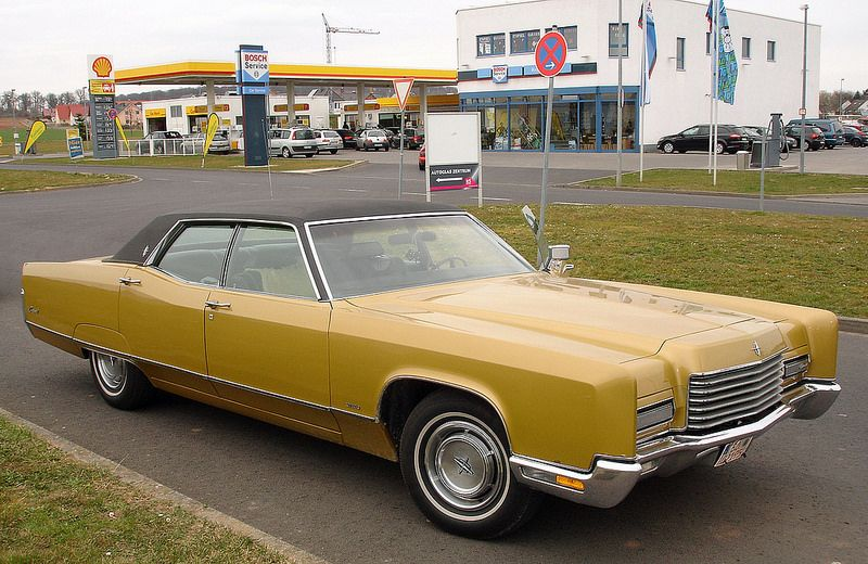 1971 Lincoln Continental Town Car Golden Anniversary Edition By That Hartford Guy
