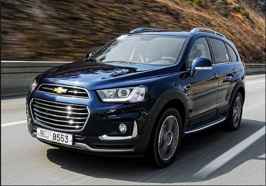2019 Chevrolet Captiva Release Date Dengan Gambar