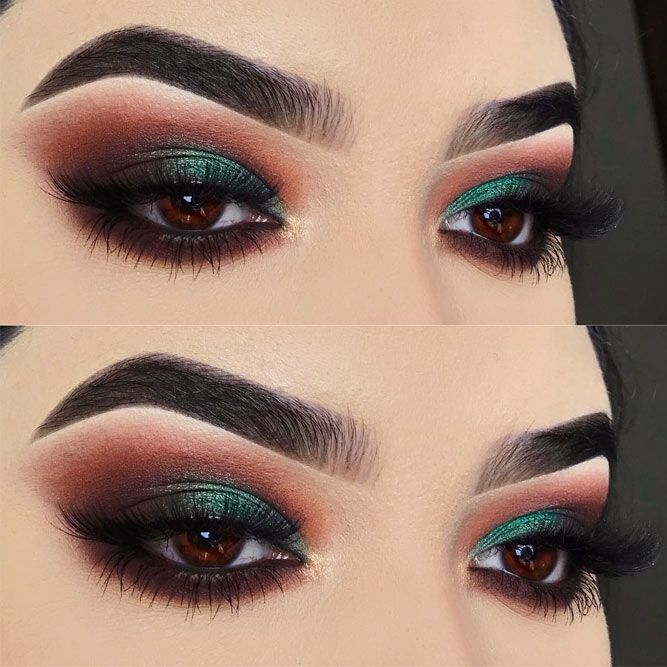 what eyeshadow colours suit brown eyes