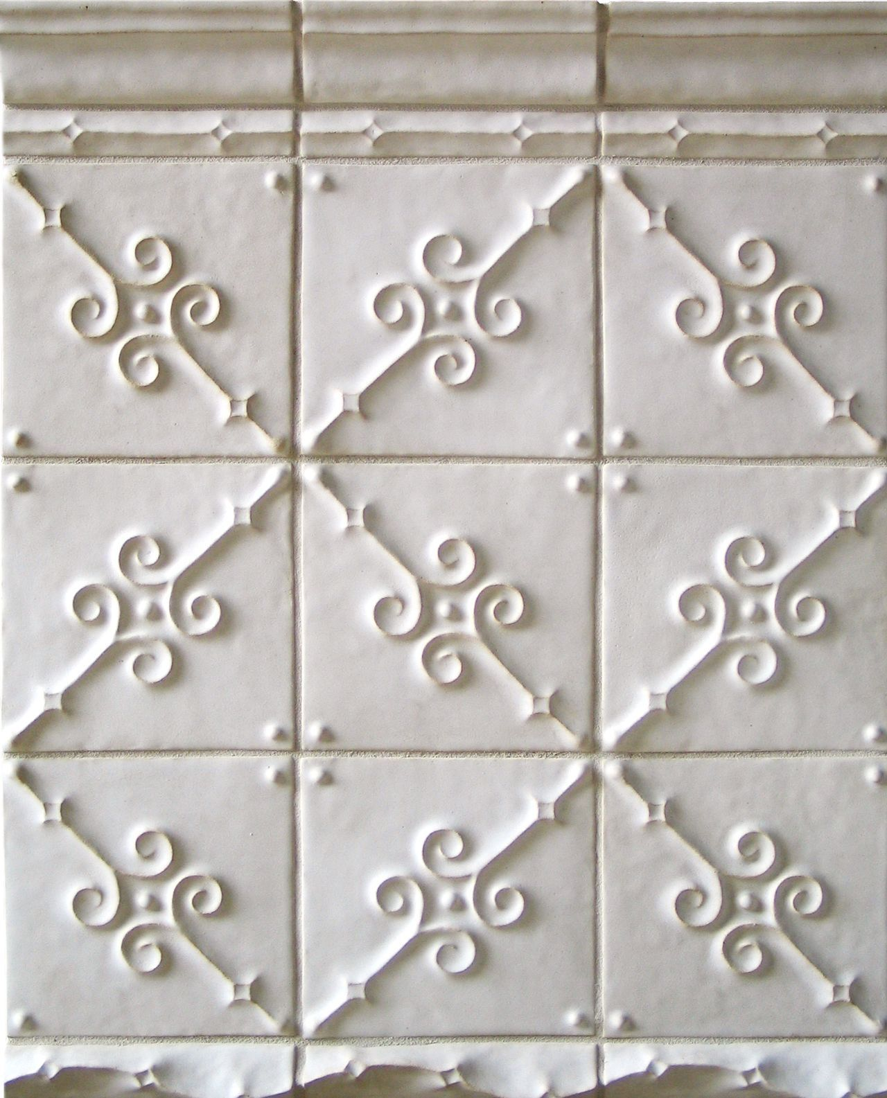 White Ceramic Tile Wall Pattern Design Ideas Diamond French Country Kitchen French Country Farmhouse Country House Decor