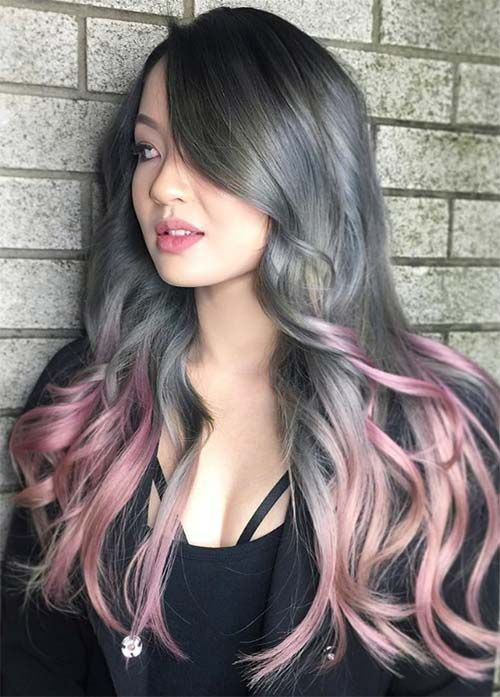 Loreal Ombre On Dyed Hair 85 Silver Hair Color Ideas And Tips For Dyeing