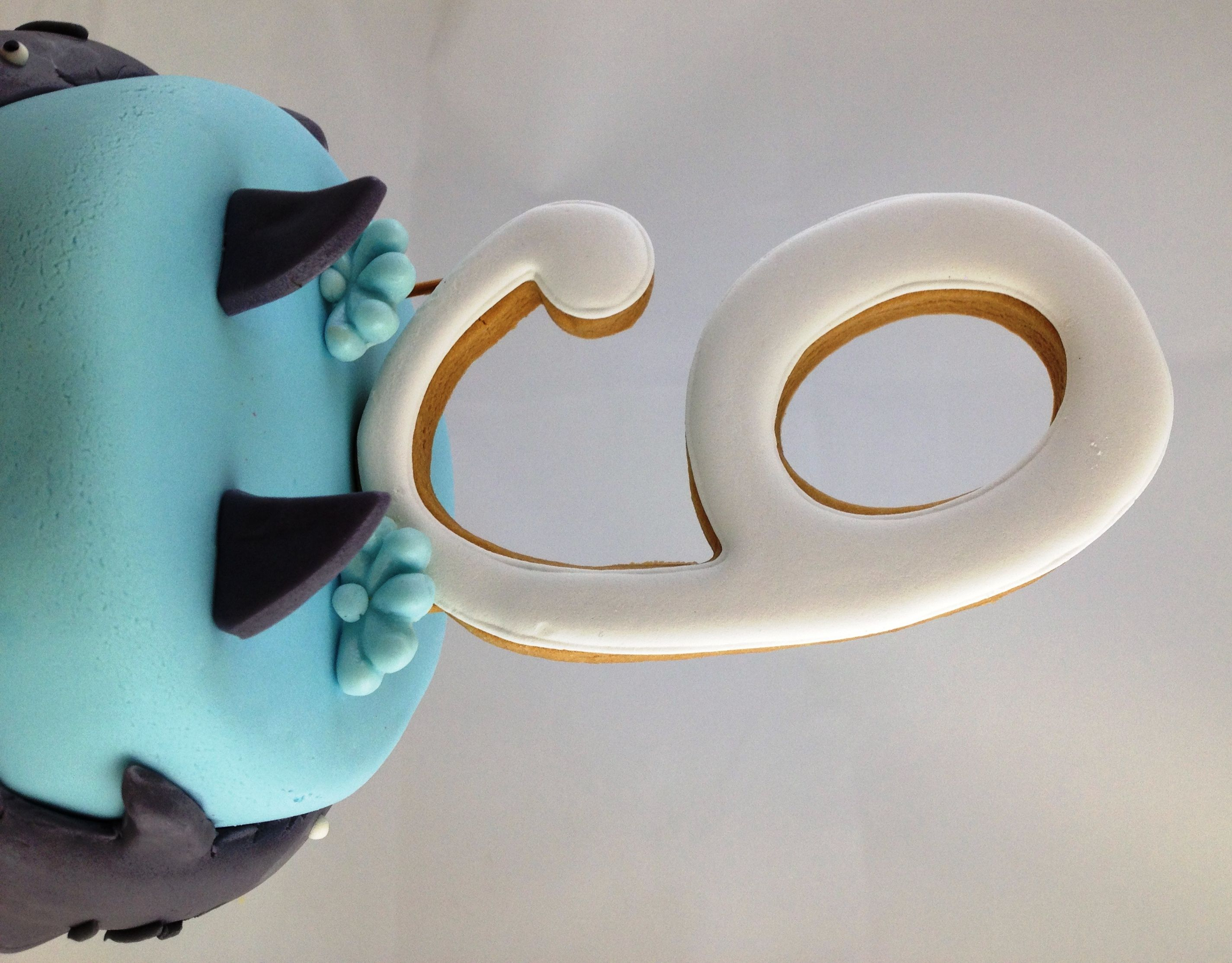 Cookie Number Cake Topper 500 Party Ideas Pinterest