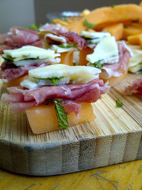 recipe: prosciutto and provolone appetizer [4]