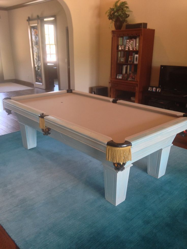 painted pool table 17 Best images