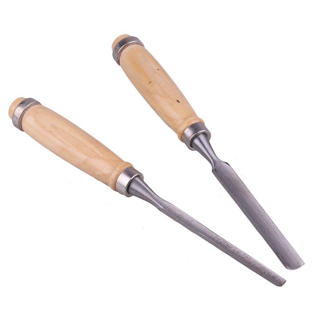 4PCS Gouge Wood Carving Chisel Tool DIY Carving Carpenter Woodworking Tools U