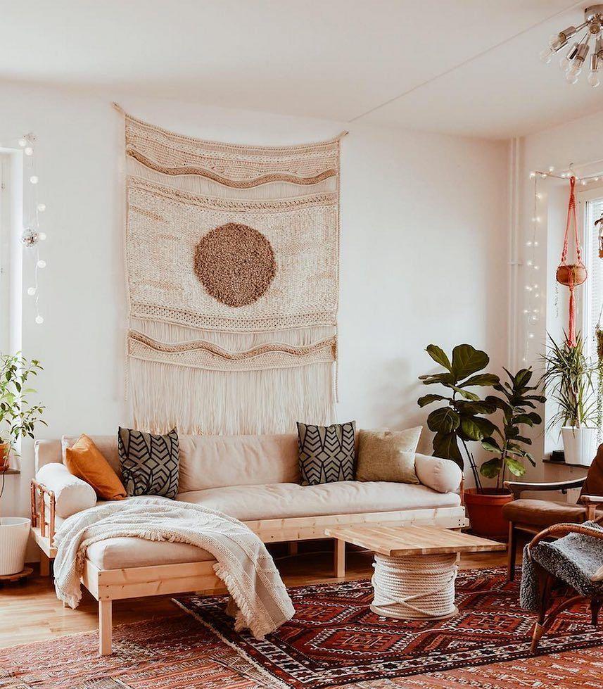 My Scandinavian Home A Blog Of Scandi Boho Inspiration La Casa De Freja In 2020 Ikea Living Room Boho Living Room Home Decor