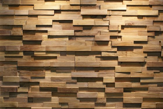 Java Sp Straight Von Teak Your Wall Platten Teak Wall 3d Wall Tiles Wood Feature Wall